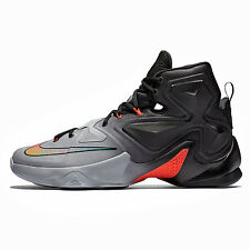 New Nike LeBron James 13 XIII Mens Basketball Shoes : Grey / Black : Size 10.5