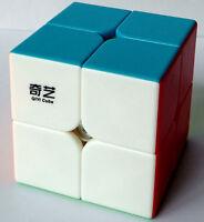 QIYI Stickerless Speed 2x2x2 Magic Cube Pocket Twist puzzle QIDI S Enlightenmet