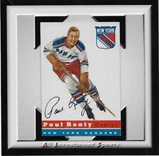 1954 Topps PAUL RONTY #15 VG-EX *tough hockey card for set* DD17