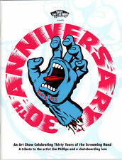 Santa Cruz Zine - 30th Anniversary Screaming Hand Art Show Programme skateboard