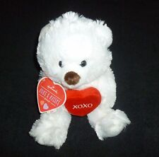 Hallmark Valentine's Day Plush Hugs and Kisses Bear - New with Tag