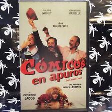 COMICOS EN APUROS (Patrice Leconte) VHS . Philippe Noiret, Jean Rochefort, Jean-