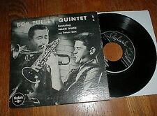 BOB TULLEY QUINTET featuring NASH MAEZ Orig 1950's EP (Skylark) VG++