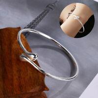 """réglable mariage ouvrir le bracelet. """" bijoux silver un bracelet de larme"""