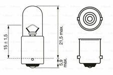 BOSCH 1 987 302 207 lampada ad incandescenza Park -/Lampada Posizione per VW AUDI OPEL