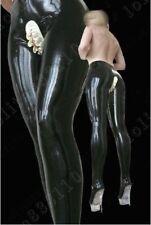 334 Latex Gummi Rubber Ruffles cut Leggings pants trousers customized 0.4mm suit