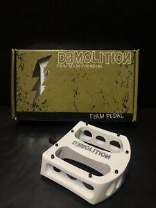 Demolition 9/16 Magnesium Team Pedal Bmx Flat platform pedals Fit: Gt Se Resist