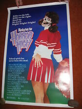 RETURN TO HORROR HIGH original MOVIE POSTER > ROLLED 1986> 1980's horror zombie