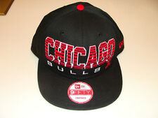 6d45f50c687 2011 New Era Chicago Bulls NBA Basketball Snapback Cap Hat Fade Out Retro  Logo