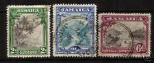 JAMAICA 1932 PICTORIALS  SET 3  FU   SG 111/113