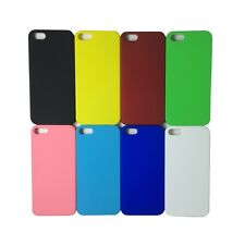 Matte Colourful Hard Rigid Solid Acrylic Plastic Case Cover For Mobile Phones
