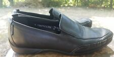 MEPHISTO Leather Loafer Shoes Caoutchouc Sz 8
