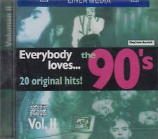 Lenny Kravitz Duran Duran Heart Poison Everybody Loves 90s Vol 2 CD New Sealed