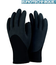 12 paire de gant de travail FOURRÉ  ANTI FROID T-9 gant termo COMME NINJA