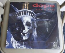 DOPE - LIVE & RARE LP (only 100 made) Nu Metal You Spin Me Round Like a Record