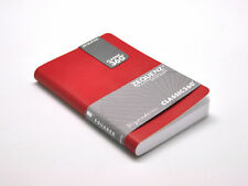 """Zequenz 360 Soft Bound Journal Notebook Mini 5 9/16"""" x 3 5/8 Red, Grid 256 pages"""