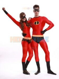 The Mr Incredible Costume Faminly incredible Cosplay Spandex Suit For Adult/Kids