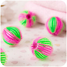 2Pc ECO Laundry Balls Fabric Hair Remove Laundry Washing Balls Clothes Cleaning