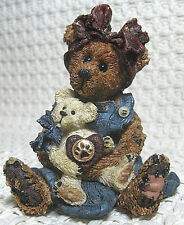 Boyds Bears & Friends, Bearstone Collection, Momma McBear (#227711), 1998
