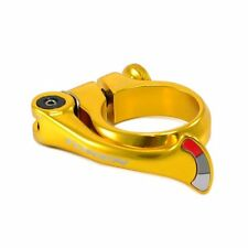 TOKEN Alloy Forged Shark Tail QR Seat Post Clamp 31.8mm , Gold