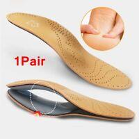 del dolor Zapatos Pads Plantilla de cuero LaTeX Pie de atención de la salud