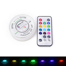 RGB LED Candle Light Changeable W/ Remote Control Waterproof Christmas Decor NT