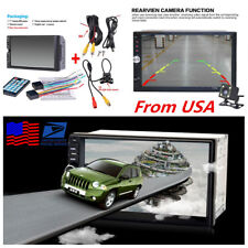 """7"""" HD Touch Screen Car Radio Audio Stereo MP5 Player Bluetooth+Rear View Camera"""