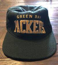 Vintage 90s Starter NFL Football Green Bay Packers Stretch Adjustable Hat