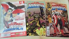 ALL-NEW CAPTAIN AMERICA 1 VARIANT COVERS NO FLEX ZONE ROCKET & GROOT COLBERT
