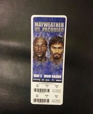 BOXING MATCH TICKET STUB Floyd Mayweather vs. Manny Pacquiao 5/2/15 MGM