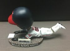 Willie Mays Hayes Bobblehead/Legs Major League Cleveland Indians Akron 2016 SGA