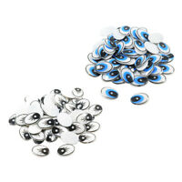 400 Pieces 9//11//15//20mm Plastic Safety Eyes Nose Washer Back for Bear Doll DIY Craft