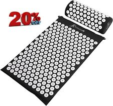 Prosourcefit Acupressure Mat And Pillow Set For Back/Neck Pain Relief And Muscle
