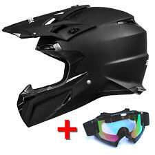 ATO MX Mexico matt mit Brille Endurohelm Motorradhelm Crosshelm Helm Moto