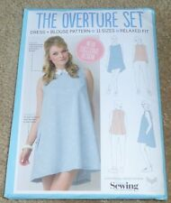 Simply Sewing The Overture Set Dress & Blouse easy Pattern 11 sizes NEW