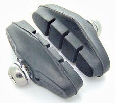 (2 PAIRS) Road Race Hybrid Fixie Bike Rim Brake Caliper Pads Blocks Shoes Pad