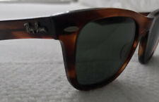 Vintage Ray Ban Wayfarer Sunglasses Bausch And Lomb Tortoise Made In USA - NICE