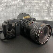 Canon T-70 35mm Slr Film Camera w/ Kiron 28-70mm Precision Macro Zoom Lens