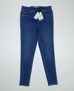 New Look Blue Denim Emilee Lift & Shape PETITE UK 8 REGULAR Skinny Leg Jeggings