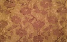 OSBORNE & LITTLE Floral Damask Green Woven Remnant New