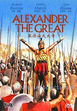 Alexander the Great (1956) - Richard Burton, Fredric March - DVD NEW