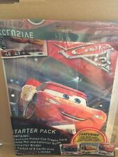 DISNEY CARS  -Cars 3 Trading Card Game Starter Pack - Collector Binder & Guide