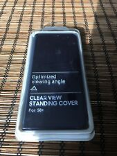 Samsung Galaxy S8+ Clear View Standing Cover Navy Blue