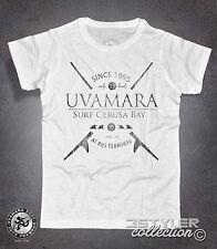 T-shirt uomo UVAMARA SURF Voltri Cerusa onde tavola waves surfboard Point Break