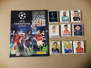 PANINI - CHAMPIONS LEAGUE 2009-10 COMPLETE SET + EMPTY ALBUM