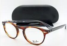 31c99a59fb NEW Rayban RX Frame Tortoise Grey RX5283 5607 47mm 7062 AUTHENTIC round
