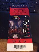 2015 US OPEN TENNIS NOVAK DJOKAVIC VS ROGER FEDERER SESSION 24 FINAL TICKET STUB