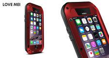Coque iPHONE 6S - LOVE MEI FRANCE antichoc et étanche  Rouge