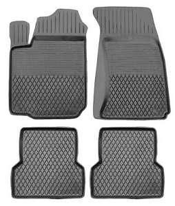 Gummimatten für RENAULT CLIO III 2005-12 3D Hohe Qualität Hoher Rand