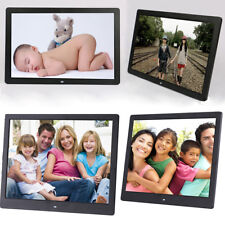 "17"" 1080P LED Digital Photo Frame Picture Photo Movie Player + Remote Control AU"